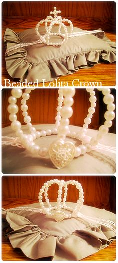 beaded lolita crown by ~heart-mind-and-soul on deviantART