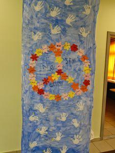 Νηπιαγωγείο Βλαχάτων: Τα Σκηνικά της Γιορτής μας για την 28η Οκτωβρίου Martin Luther King, Kindergarten, Classroom, Peace, War, Education, School, Projects, Kids