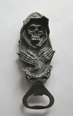 Santa Muerte Bottle Opener