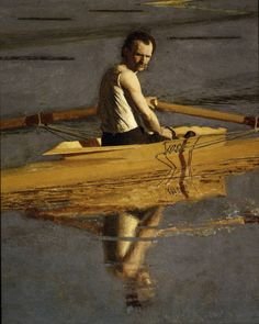 Painting by Thomas Eakins