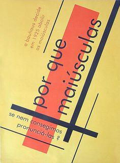Bauhaus | porque maiúsculas? (Unknown Author)