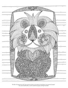 Happy Coloring Monday! here your coloring page for the week http://valentinadesign.com/images/printables/thelion_11_11_VH.pdf Enjoy it!