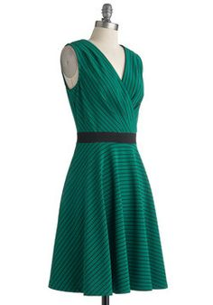 The color and cut are pefect - Clubhouse Soda Dress, #ModCloth