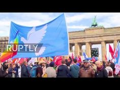 Thousands of Germans protest government military policies, NATO's confrontation with Russia over Syria - http://www.therussophile.org/thousands-of-germans-protest-government-military-policies-natos-confrontation-with-russia-over-syria.html/
