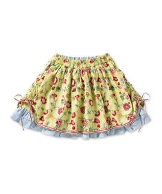 Take a look at this Green Ivy Shaza Skirt - Toddler & Girls by Oilily on #zulily today!