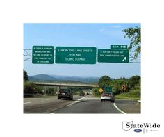 An easy guide to help decide which lane to use on the interstate. #FunnyFriday