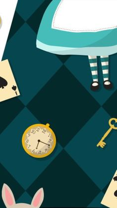 24 Trendy Party Background Iphone Alice In Wonderland Wallpaper Iphone Cute, Disney Wallpaper, Cool Wallpaper, Pattern Wallpaper, Cute Wallpapers, Wallpaper Backgrounds, Alice In Wonderland Background, Alicia Wonderland, Adventures In Wonderland