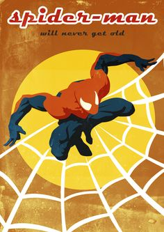 Marvel Comics Fan Art - VINTAGE by robert OBERT, via Behance. Want this poster for B.