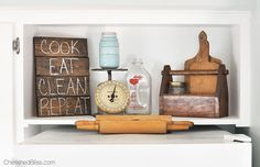 How to Decorate & Organize the Top of Your Fridge