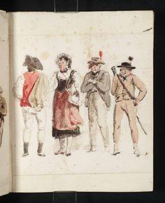 Joseph Mallord William Turner, 'Group of Peasants' 1802