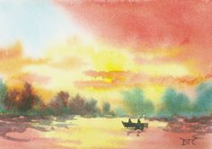 Watercolor Impressionism | ... Collins Blog, Abstract landscape paintings , and modern impressionist