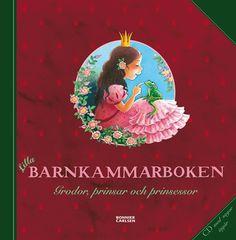 Barnkammaren, Lilla barnkammarboken inkl CD, Grodor, prinsar & prinsessor