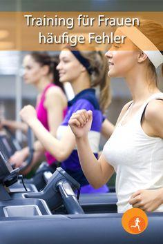 Fitnessstudios sind schon lange keine reine Männerdomäne mehr. Immer mehr Frauen wollen neben den Laufbändern und den Rädern nun auch die Kraftgeräte verwenden. Doch nicht immer wird sich genügend darauf vorbereitet, oder man nimmt schlechte Ratschläge an, die einen am Ende oft nicht weiterbringen.    #frauen #sport #bewegung #fehler #fitness #studio #cardio #krafttraining #abnehmen #muskeln #stärker #gesund #fit #fitundgesund #tipps #häufig #regeln #beachten Fitness Studio, Sports, Treadmill, Human Body, Health And Fitness, Woman, Hs Sports, Sport