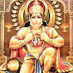 HANUMAN was a Hindu god who resembled a monkey. His mother Anjana was an apsara who was born on earth as a female Vanara due to a curse. Hanuman sounds very similar to Human. Cavemen were ape-like beings. Hanuman Chalisa Bhajan, Shri Hanuman, Hanuman Photos, Hanuman Images, Hanuman Chalisa Audio, Wicca, Magick, Hanuman Tattoo, Yoga Vidya