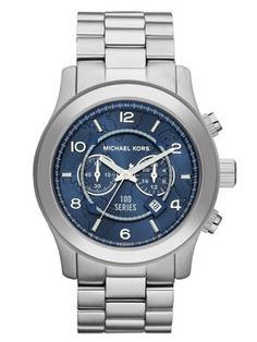I really like watches with a silver metal band with the blue dial. Simple, classy, and extremely versatile. Pictured here: Michael Kors Watch Hunger Stop Oversized 100 Series Watch Sac Michael Kors, Cheap Michael Kors, Handbags Michael Kors, Michael Kors Watch, Mk Handbags, Chanel Handbags, Men's Watches, Oversized Watches, Vanessa Jackman