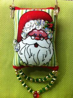 Pingente Papai Noel