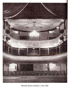 Tylovo divadlo z r. 1833