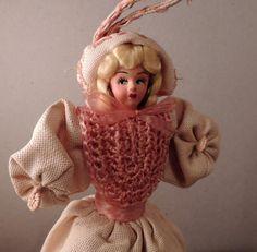 Vintage Purse, Doll Purse, Italian Doll Purse, Antique Purse, Vintage Collectibles, Vintage Doll