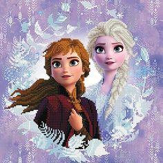 Jetzt könnt ihr euer Glitzerbild von Elsa, Olaf und Co. mit den funkelnden Diamond Dotz gestalten. Coca Cola Party, Disney Dumbo, Disney Frozen 2, Paw Patrol, Anna Et Elsa, Disney Characters, Fictional Characters, Sisters, Dots