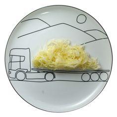 Comer sobre ruedas