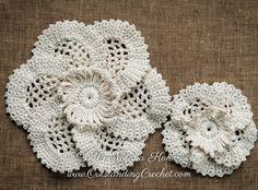 Irish Crochet Pattern Poppy Flowers and by OutstandingCrochet