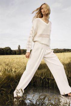 visual optimism; daily fashion fix.: elza luijendijk, suvi koponen and caroline brasch nielsen for chloe resort 2013