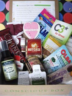 February's Box - packed full! Thanks Lynn!