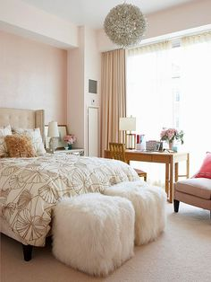 office space of the day...office in the bedroom on bloglovin