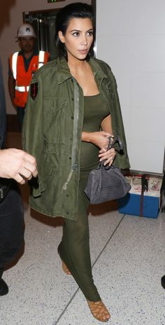 Find out Kim Kardashian's maternity style M.O., straight from younger sis Kylie.