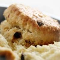 Basic Scones Recipe - Scones with Dried Currants