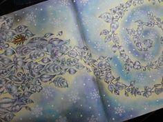 Jardim Secreto - desenho da Adriana Marinho