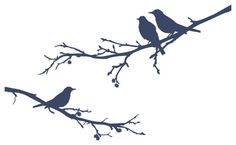 Surface Collective - Bye Bye Black Bird Wall Tattoo modern decals
