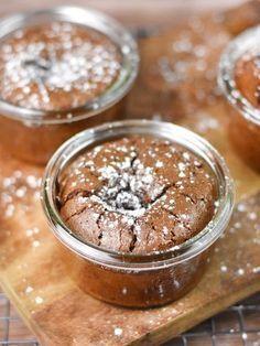 Ramequins fondants au chocolat - Recette de cuisine Marmiton : une recette