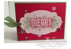 A Merry Do-Over by kkrab5 - Cards and Paper Crafts at Splitcoaststampers