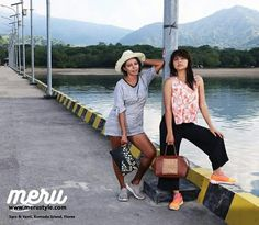 Sarasota and yanti for www.merustyle.com