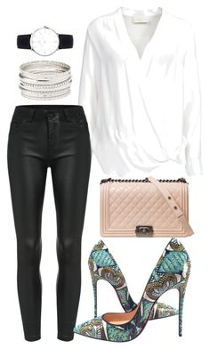 """""""Untitled #56"""" by biancamarie17 on Polyvore featuring By Malene Birger, Christian Louboutin, Chanel and Charlotte Russe"""
