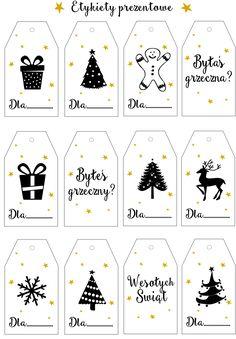 Projektowanie graficzne dla dużych i małych Cricut Christmas Ideas, Christmas Writing, Christmas Stickers, Christmas Gift Tags, Christmas Crafts, Merry Christmas, Bullet Journal Diy, Advent Calenders, Inspirational Gifts