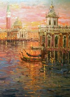 """Sunset in Venice"" by Mostafa Keyhani"