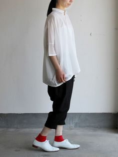 Pull over big shirt / Draw string sarrouel pants 2