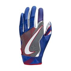 2d1523cf Nike Vapor Jet 4 (NFL Giants) Men's Football Gloves Size Large (Blue) -  Clearance Sale