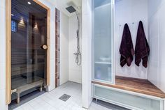 Entryway, Saunas, Interior, Closet, Furniture, Home Decor, Entrance, Armoire, Decoration Home