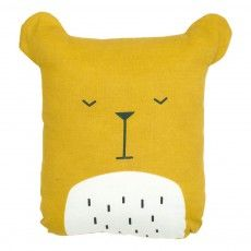 Coussin animal Ours Jaune