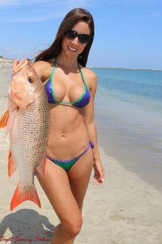 fishing Hot sexy girl
