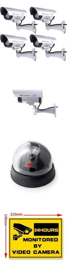 Wired 121835: New Ir Bullet Dome Fake Dummy Surveillance Security Camera Cctv And Record Light -> BUY IT NOW ONLY: $36.96 on eBay!