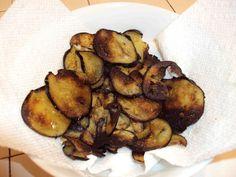 Baked Eggplant Chips