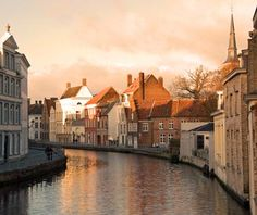 World's Most Beautiful Canal Cities: Bruges
