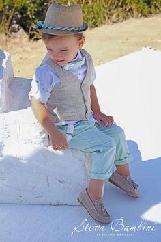 Βαπτιστικά,Ν. Μαγνησίας,Wedding Key www.gamosorganosi.gr Boy Outfits, Panama Hat, Kids Fashion, Hipster, Boys, Jr, Style, Xmas, Boyish Outfits