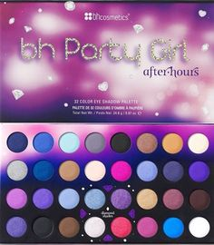 NEW BH Cosmetics PARTY GIRL AFTER HOURS EYE SHADOW PALETTE Factory Sealed NIB #BHCosmetics