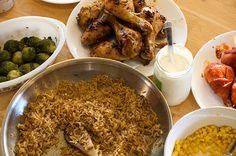 Chicken Leg Dinner