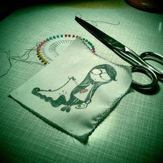disegno su tessuto
